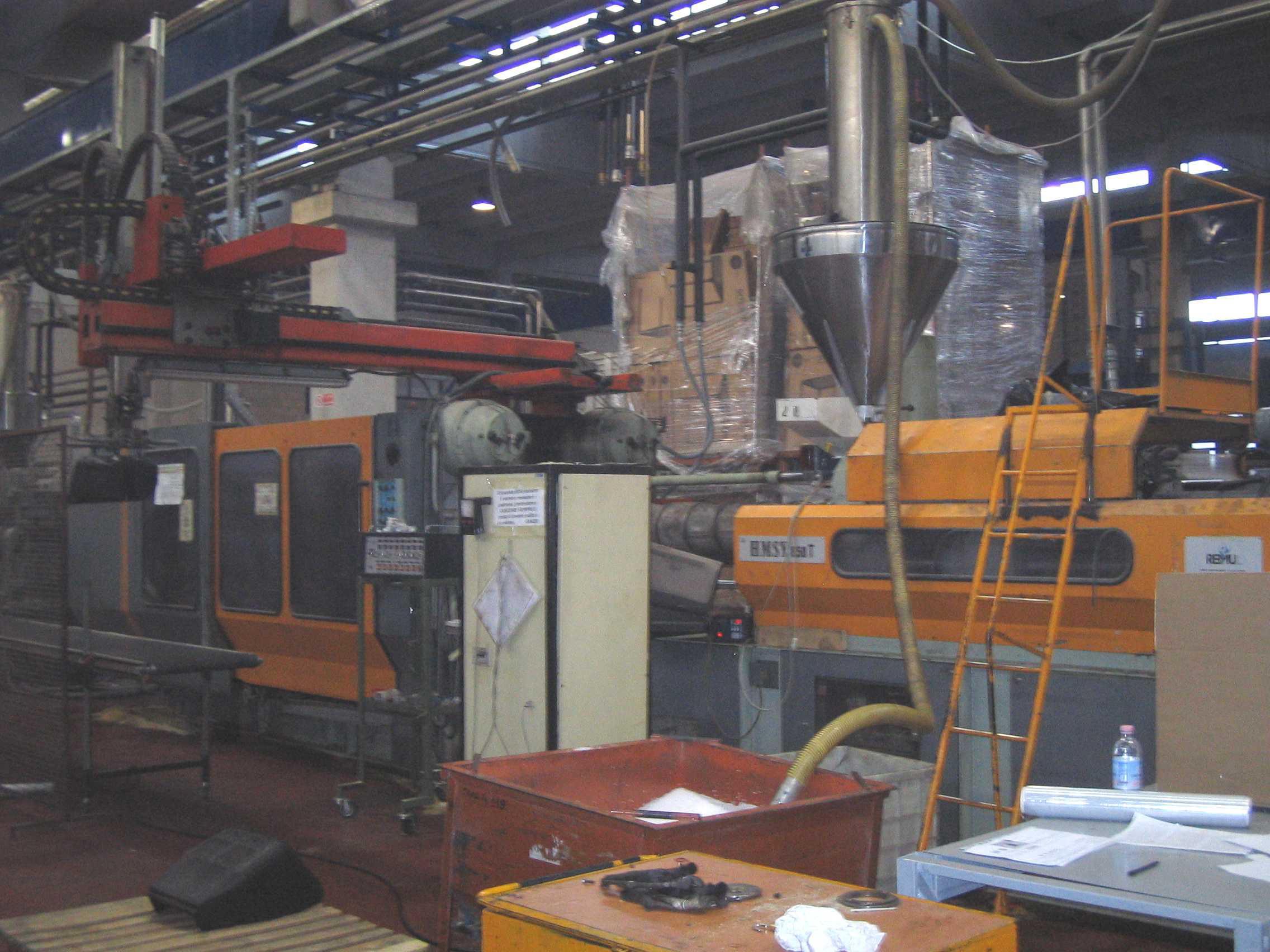buhler injection moulding machine